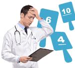 Meilleure mutuelle santé : notation médecin